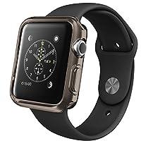 Microsonic 14397 Apple Watch Series 3 42mm Kılıf Clear Soft, Siyah
