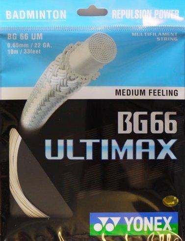Yonex BG-66 Ultimax Badminton String - 10m Set Test