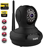 [UPGRADED] MAISI HD 1MP Wireless Security IP Camera with 3dB ENHANCED WiFi, Baby Pet Monitor - Smart Setup In Minutes, Motion Detection Recording, Mobile Push Alerts, And MORE