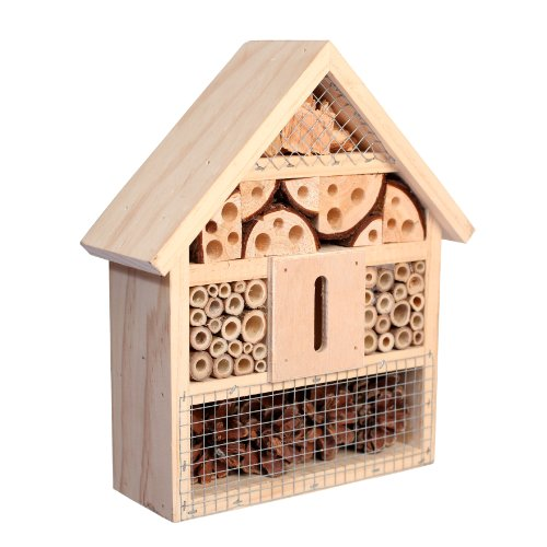Gardenon Natural Insect Hotel Bee Bug House Hotel Test