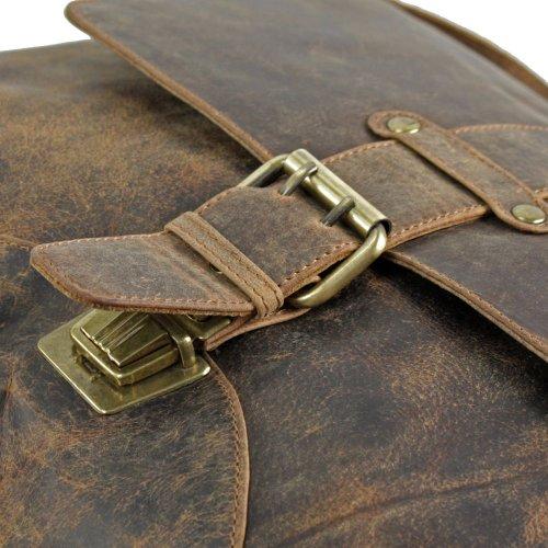 Harold's Antik Sac bandoulière cuir 36 cm braun