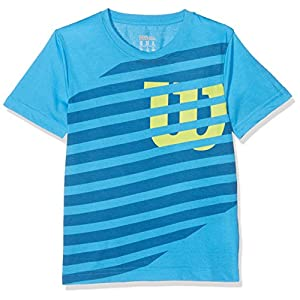 Wilson B Lined W Tech Tennis Shirt, Kinder, Kinder, B Lined W Tech