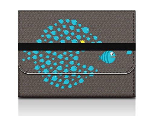 Sidorenko Schutzhülle für Macbook Air-Pro 13,3 Zoll Filz-Stoff / Hülle / Laptoptasche / MacBook Tasche / Computer Tasche / Netbooktasche / Ultrabook-Tasche / Sleeve (Dell Xps 13 Laptop Weiß)