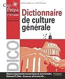 Dictionnaire de culture générale Cap Prépa