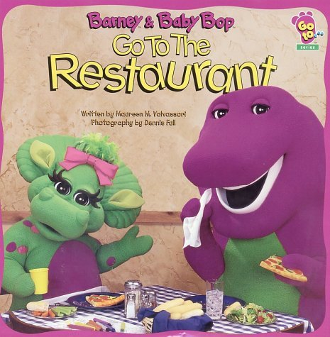 Barney And Baby Bop Go To The Restaurant by Scholastic Inc. (1998-02-01)