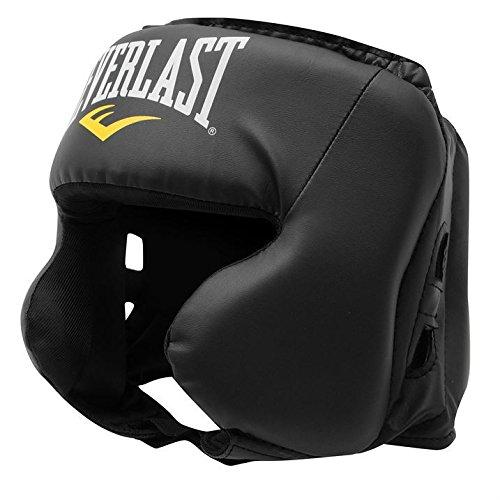 everlast-headguard-unisex-black-adjustable-strap-boxing-sport-accessories
