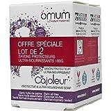 Omum - Force Spéciale Hydratation - Offre duo 2 savons Le Cajoleur - Grossesse & Allaitement - Bio
