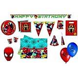 Marvel 5382 - Kit de fiesta (formato XXL), diseño de Spiderman