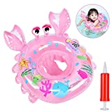 Best Baby Swim Floats - Oziral Baby Swimming Ring Float with Seat Cartoon Review