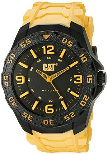 CAT LB.111.27.137 - Orologio da polso uomo, colore: giallo