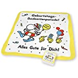 "Sheepworld 59373 Magic Towel ""Geburtstags-Badeentenparade! Alles Gute für Dich!"""