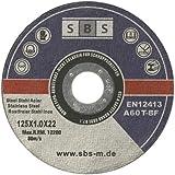 50 Stück SBS Inox Trennscheiben 125 x 1,0 mm