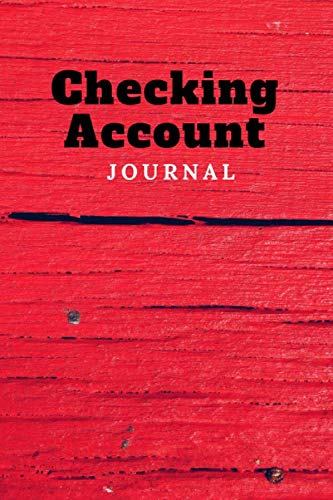 Checking Account Journal: Two Year Calendar Register Logbook
