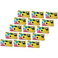 FV-Sonderleistung Let's Have Fun Lot de 15 appareils photo jetables avec flash 400 ASA 27 vues