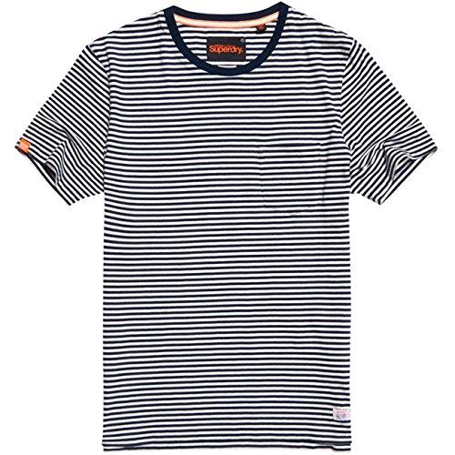 Herren T-Shirt Kurzarm Marine