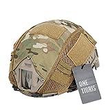 OneTigris Copri calotta per casco mimetico Copertura per casco, Multicam