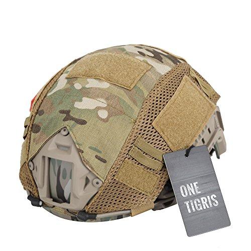 OneTigris Taktische Helmüberzug Helm Abdeckung (Multicam)