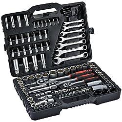 Generic Nick 1 Professionelle Mechaniker-Ratsche, 1/4 Zoll / 6,35 mm, 3 Maulschlüssel, Werkzeugkasten S 3/8 Zoll