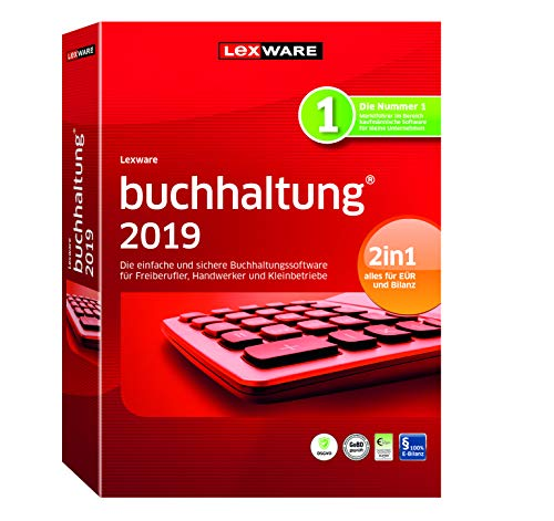 Lexware buchhaltung 2019/basis-Version in frustfreier Verpackung (Jahreslizenz)/Einfache Buchhaltungs-Software für Freiberufler, Handwerker und Vereine/Kompatibel mit Windows 7 oder aktueller
