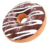 Outgeek Donut Süssigkeiten Kissen Neuheit Essen Donut Ring Sitzkissen