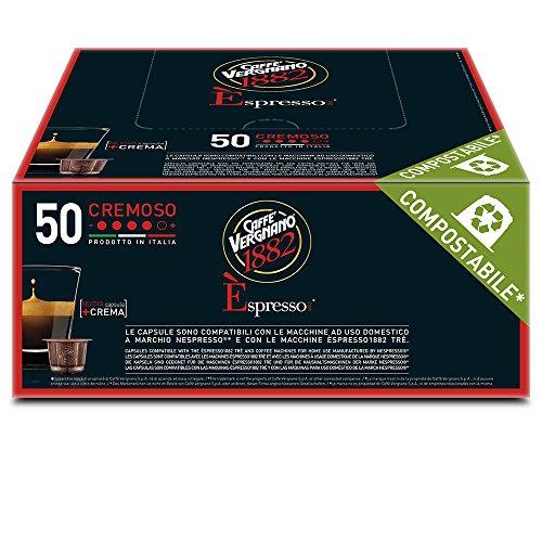 Caffè Vergnano 1882 Espresso Cremoso - 50 Capsule