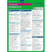 PONS Grammatik auf einen Blick Spanisch (PONS Auf einen Blick)
