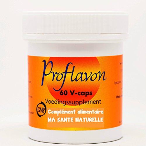 Proflavon (Formel für Prostata) 600 mg (Zwergpalme, Zink, Natürliches Vitamin E, Lycopin, Brokkoli) 60 pflanzliche Kapseln