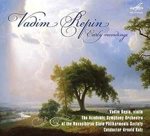 Vadim Repin: Early recordings by Melodiya