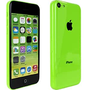 Reproduction factice non fonctionnelle à l'échelle 1:1 de l'iPhone 5C d'Apple en vert olive