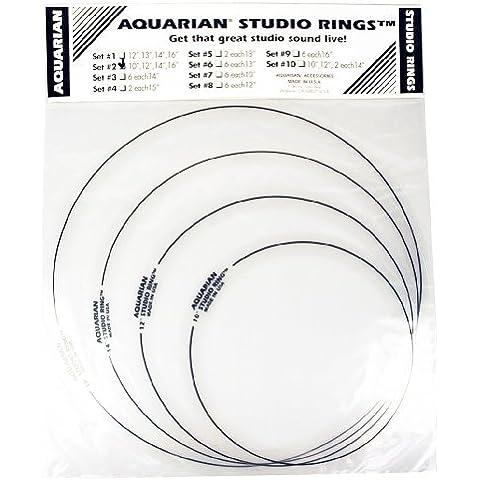 'Aquarian Studio Rings srset210,12,14,16 - Studio Aquarian 14