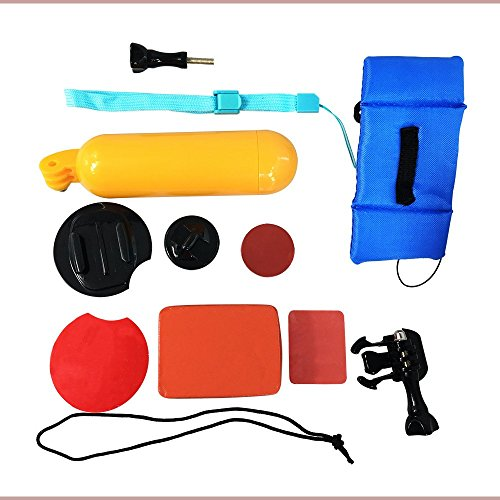 KEHAN Kit Galleggiante Inclusi Mano Grip Impugnatura Maniglia Supporto Accessori + Cintura Galleggiante da Polso per Action Camera KEHAN C60 C70 Gopro Hero HD 4 / 3+ / 3 / 2 SJCAM Sj5000+ Sj5000 Sj4000