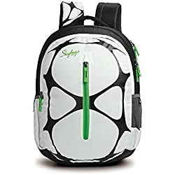 Skybags Pogo 02 _ 32 Ltrs WHITE School Bag