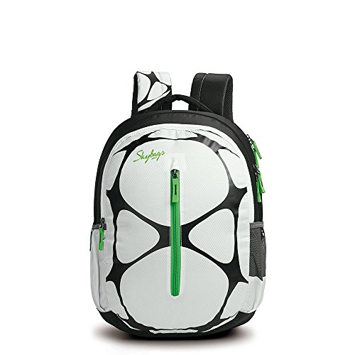 Skybags Latest Polyester 32 Ltr White School Backpack