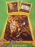 Animal Planet Giraffe 2tlg. Bettwäsche, 80/80 & 135/200 cm Baumwolle