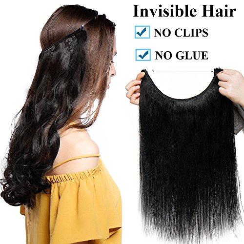 Extensiones Cabello Natural Hilo Invisible Sin Clip