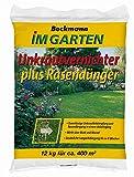 Rasendünger mit Unkrautvernichter 12 kg für ca. 400 m²