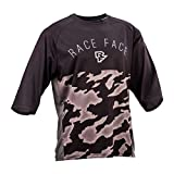 Race Face Downhill-Jersey Ambush Schwarz Gr. XL