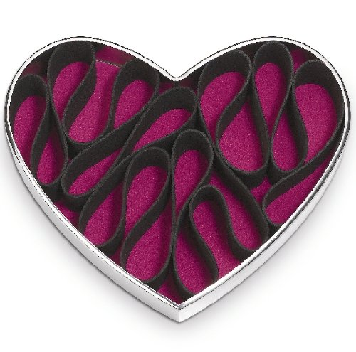 po-selected-heart-shaped-stainless-steel-perfume-and-make-up-holder-17-x-20-x-5-cm-silver-black