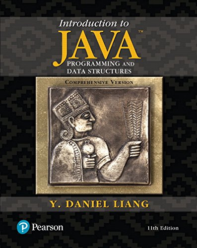 eBook DOWNLOAD] INTRO TO JAVA PROGRAMMING-11E READ ONLINE