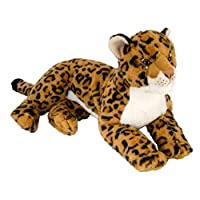Wild Republic 12919 Cuddlekins Laying Leopard 40 cm Plush