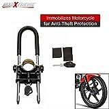 Best U Lock - AllExtreme EXM2ULK Universal Motorcycle U Lock Front Wheel Review