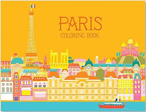 Paris Coloring Book (City)