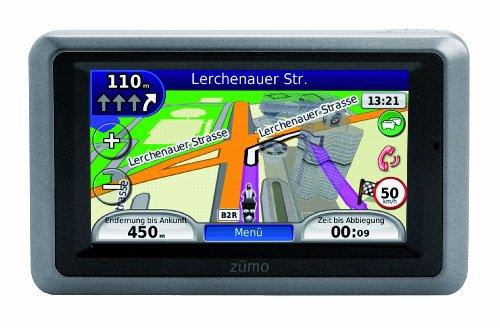 Garmin zumo 660 Europa wasserdichtes Motorrad-Navigationssystem mit Fahrspurassistent, 3D-Kreuzungsansicht und Bluetooth