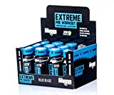 Energy Drink - Little Dragon Energy Shot - Mit Koffein, Kreatin, Arginin & Alanin - Ohne Zucker, Fette oder Kohlenhydrate - 60ml (Blue Blaze, 12er-Pack)