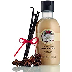 The Body Shop Vanilla Chai Shower Gel, Seasonal Edition Body Wash, 250ml