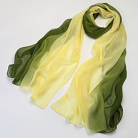 Foulard en Soie de mûrier foulard écharpe de printemps et d