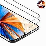 FUMUM Panzerglas Schutzfolie für Huawei Y6 2019 Glasfolie, Premium HD 9H Bildschirmschutz für Huawei Y6 2019 Folie[Bubble-frei] [Anti Fingerabdruck]