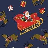 FS411   Slitte di Babbo Natale   Poliestere Elastane   Campane