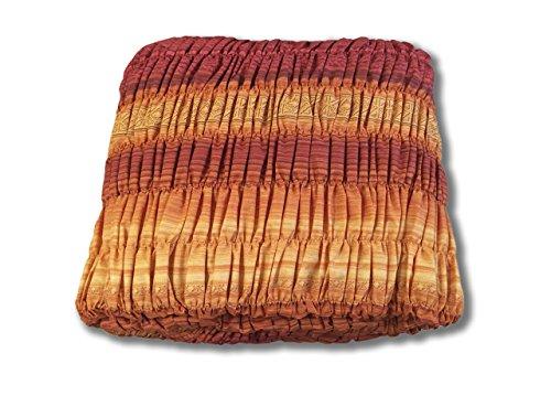 BIANCHERIAWEB Copridivano Angolare Universale Arricciato Inkas Angolare Inkas