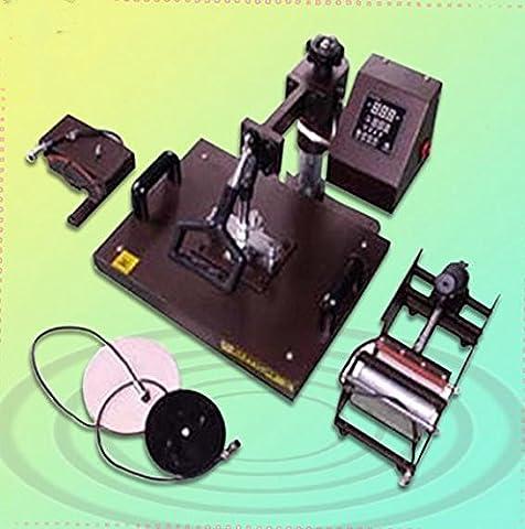 Gowe Machine de presse à chaleur multifonction, Machine d'Impression Pour Tasses, lavable en transfert de chaleur
